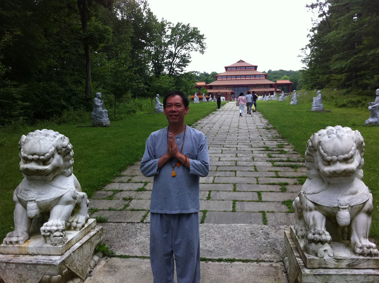 Brother ChiSing at Chuang Yen Monastery