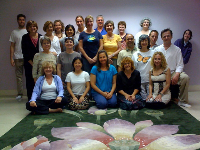 First retreat at the Dallas Meditation Center, May 22, 2010