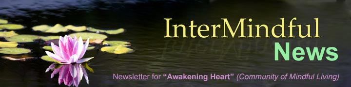 InterMindful Weekly - Newsletter for the Sangha - Dallas, Texas