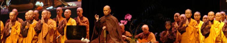 Thich Nhat Hanh and Monastic Community, UCLA