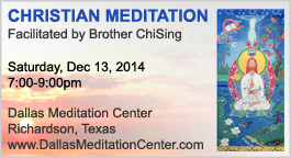 Christian Meditation with Brother ChiSing