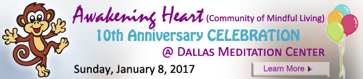 Awakening Heart 10th Anniversary at Dallas Meditation Center