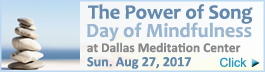 Power of Song Day of Mindfulness
