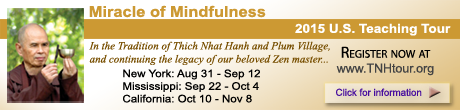 Thich Nhat Hanh, Miracle of Mindfulness US Tour 2015