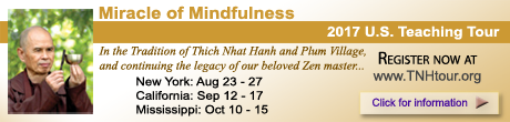 Thich Nhat Hanh, Miracle of Mindfulness US Tour 2017